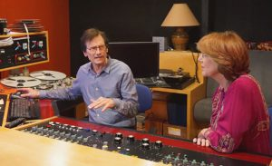 Bernie Grundman and Jennifer Warnes