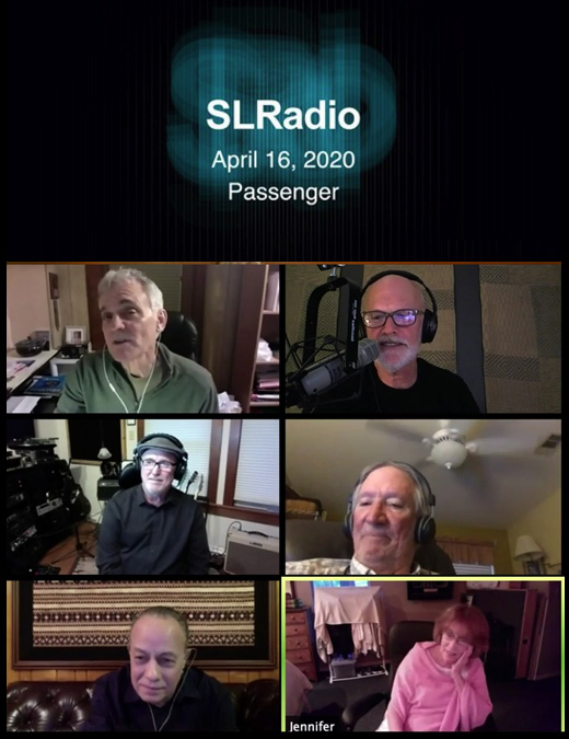 Jennifer and Passenger on SL Radio